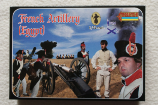 Strelets 1/72 ST0078 French Artillery in Egypt (Napoleonic)